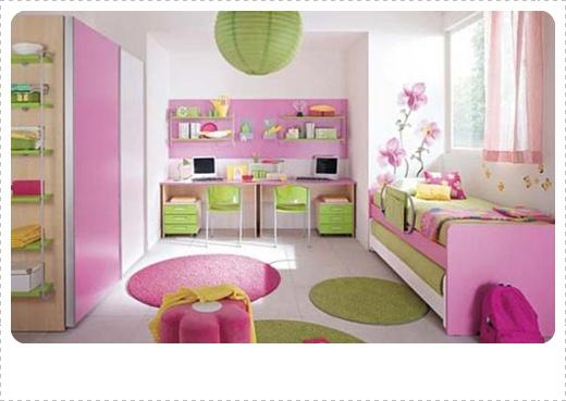desain dan dekorasi kamar tidur anak perempuan