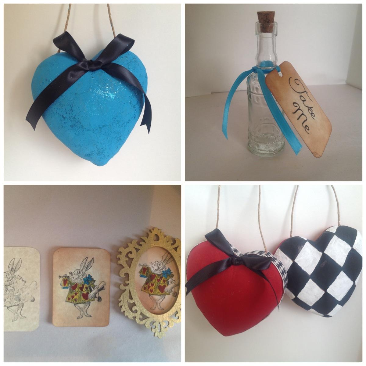 Craft room secrets alice in wonderland diy christmas for Alice in wonderland crafts