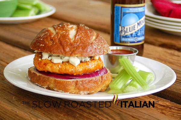 ... burger, the Spicy Buffalo Wings Chicken Burger is a must on your to do