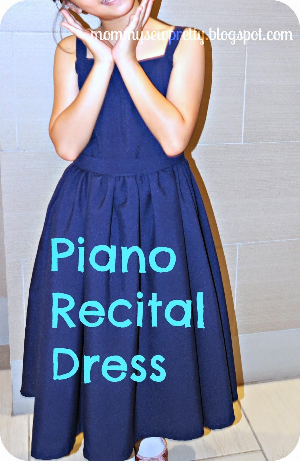 mommy sew pretty: Piano Recital Dress