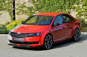 Earlier this week, Škoda released a teaser sketch of the Rapid Sport concept .