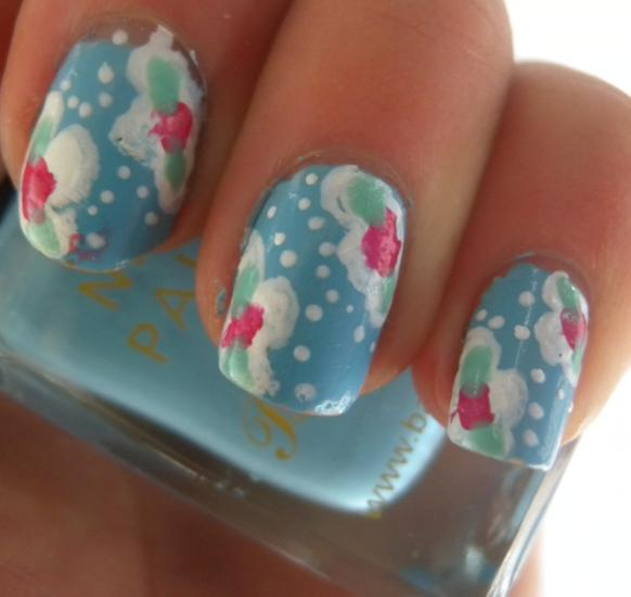 Nail Arts By Rozemist Cath Kidston Vintage Inspired: Miss Sunshine And Sparkle