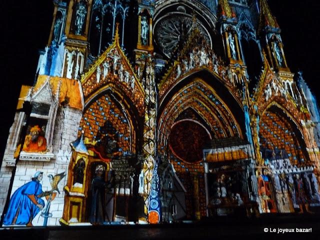 """""""Rêve de couleurs"""" de la cathédrale de Reims"""