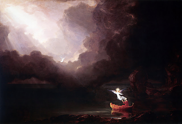 Thomas Cole voyage of life old age romanticism naturalism