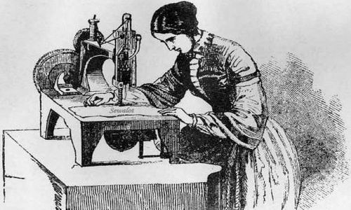 First Sewing Machine