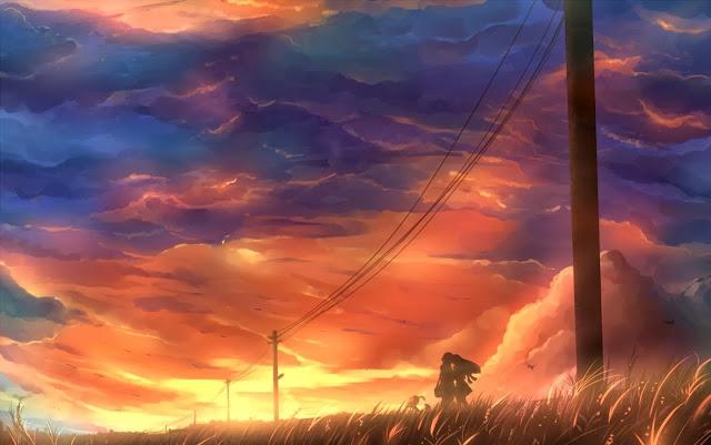 anime couple,anime kiss,anime love