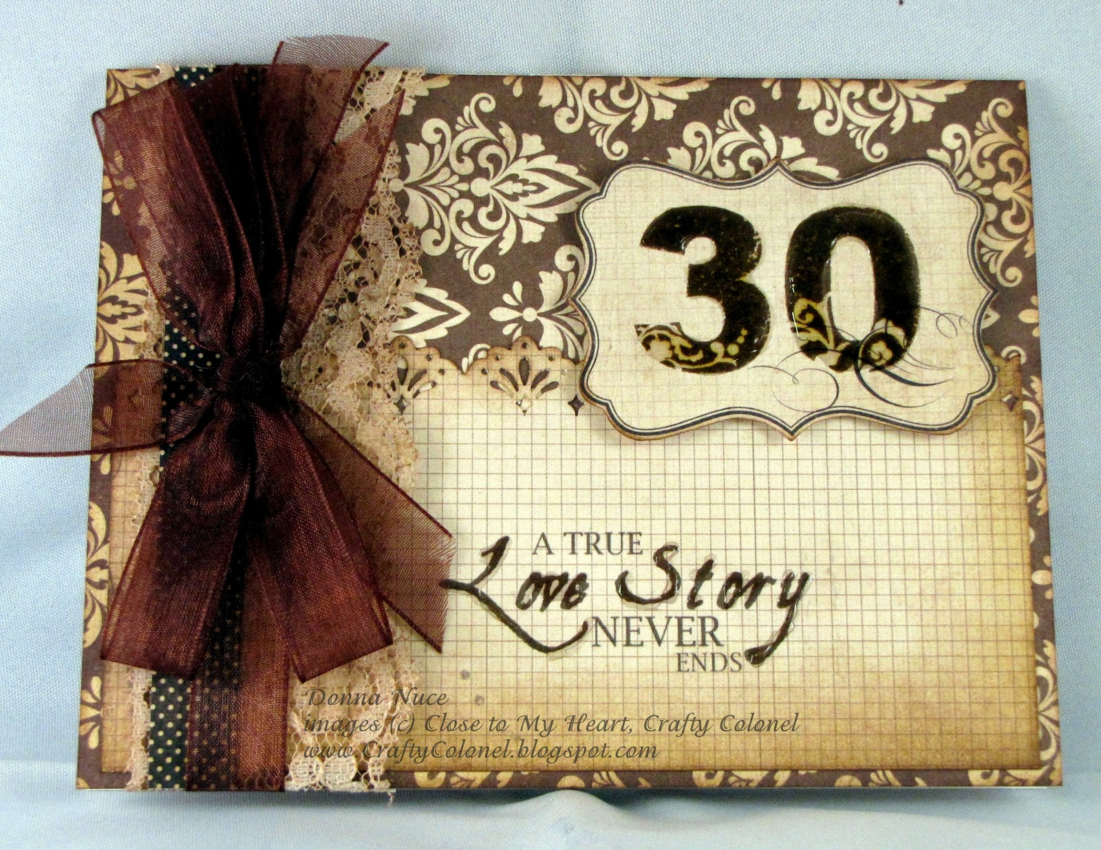 Crafty Colonel 30th Wedding Anniversary