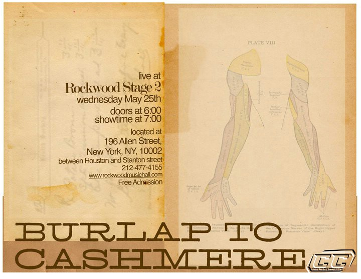 Burlap To Cashmere 2011 biography history