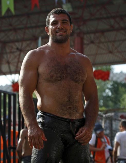 Turkish Oil Wrestling Nude