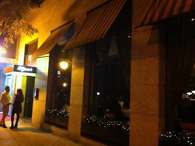 Ventanales restaurante Higinio's