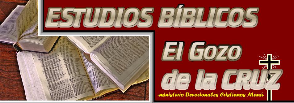 El Gozo de la Cruz. Estudios Biblicos