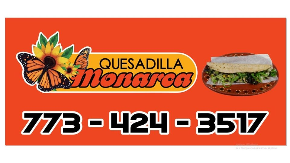 Quesadilla Monarca