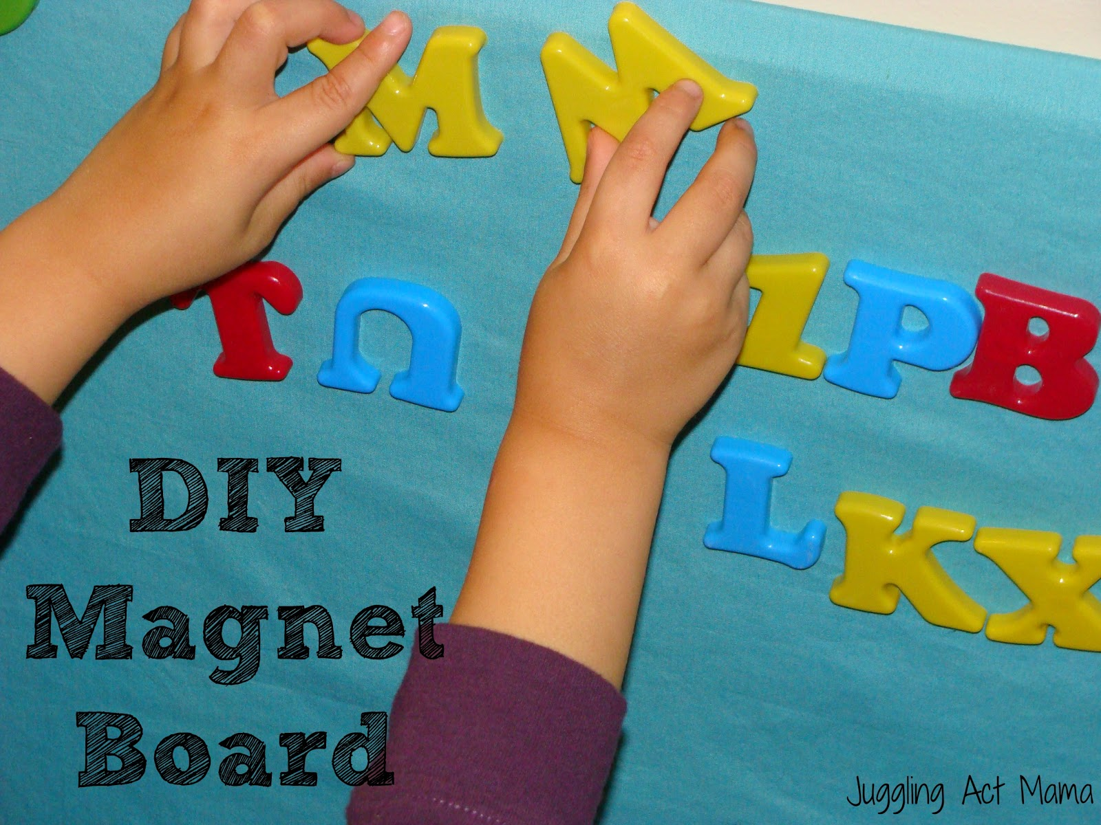 Adventures in Creating a Magnet Board - Juggling Act Mama