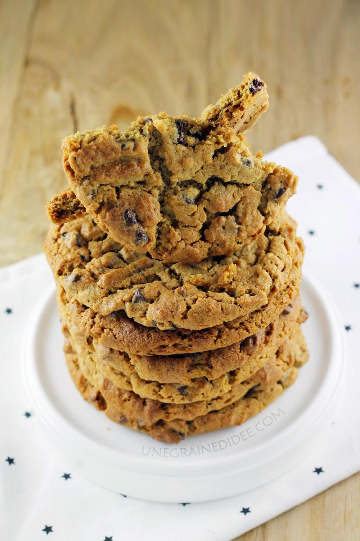 Cookie Beurre de Cacahuète Chocolat