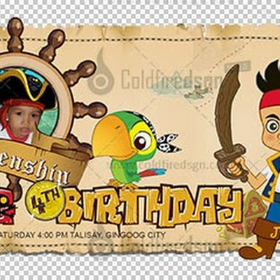 Jake and the Neverland Pirates Birthday Layout