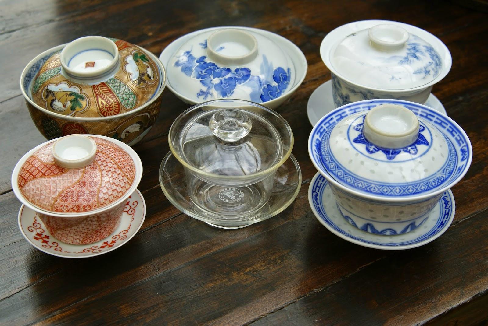 petit gaïwan en porcelaine