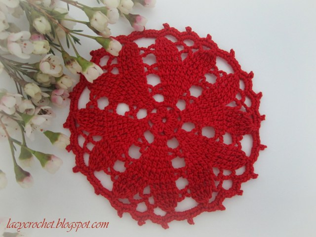 Crochet Valentine : Lacy Crochet: Valentine?s Day Crochet Projects