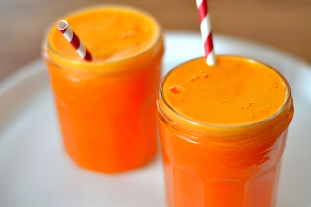 Appelsiini-porkkanamehu