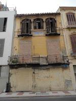 edificio histórico en ruina, calle Carretería 9