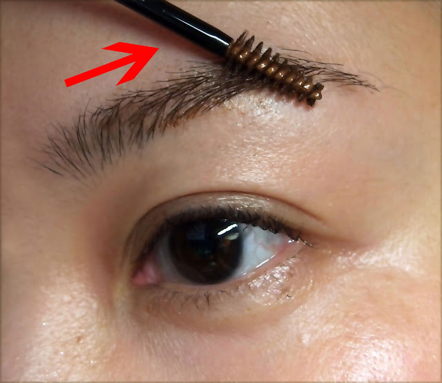 brow shaping 修眉 眉毛剪刀 剪眉 eyebrow mascara