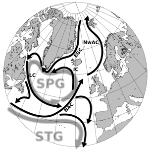 HowSubpolar Gyre controls inflow of  Arctic Currents