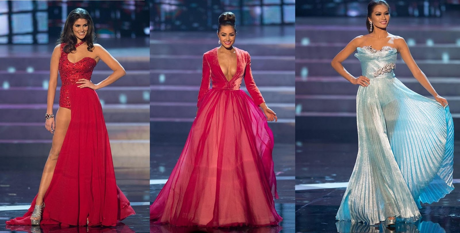 Pretty Cute and Outrageous: Miss Universe Top 10 Fab Evening Gowns!
