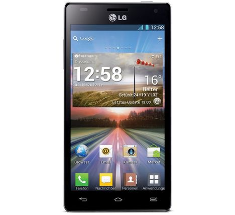 Android Smartphone LG Optimus 4X HD Android 4.1