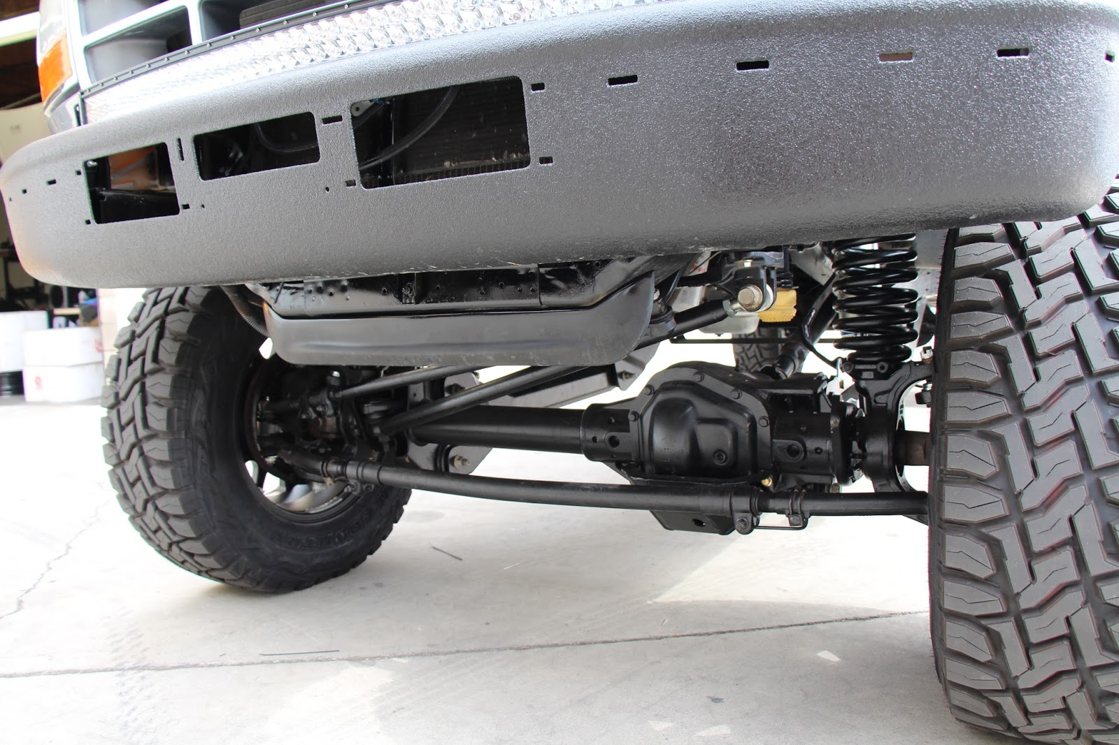 Cjc off road blog update to our 1997 obs f350 carli dominator build