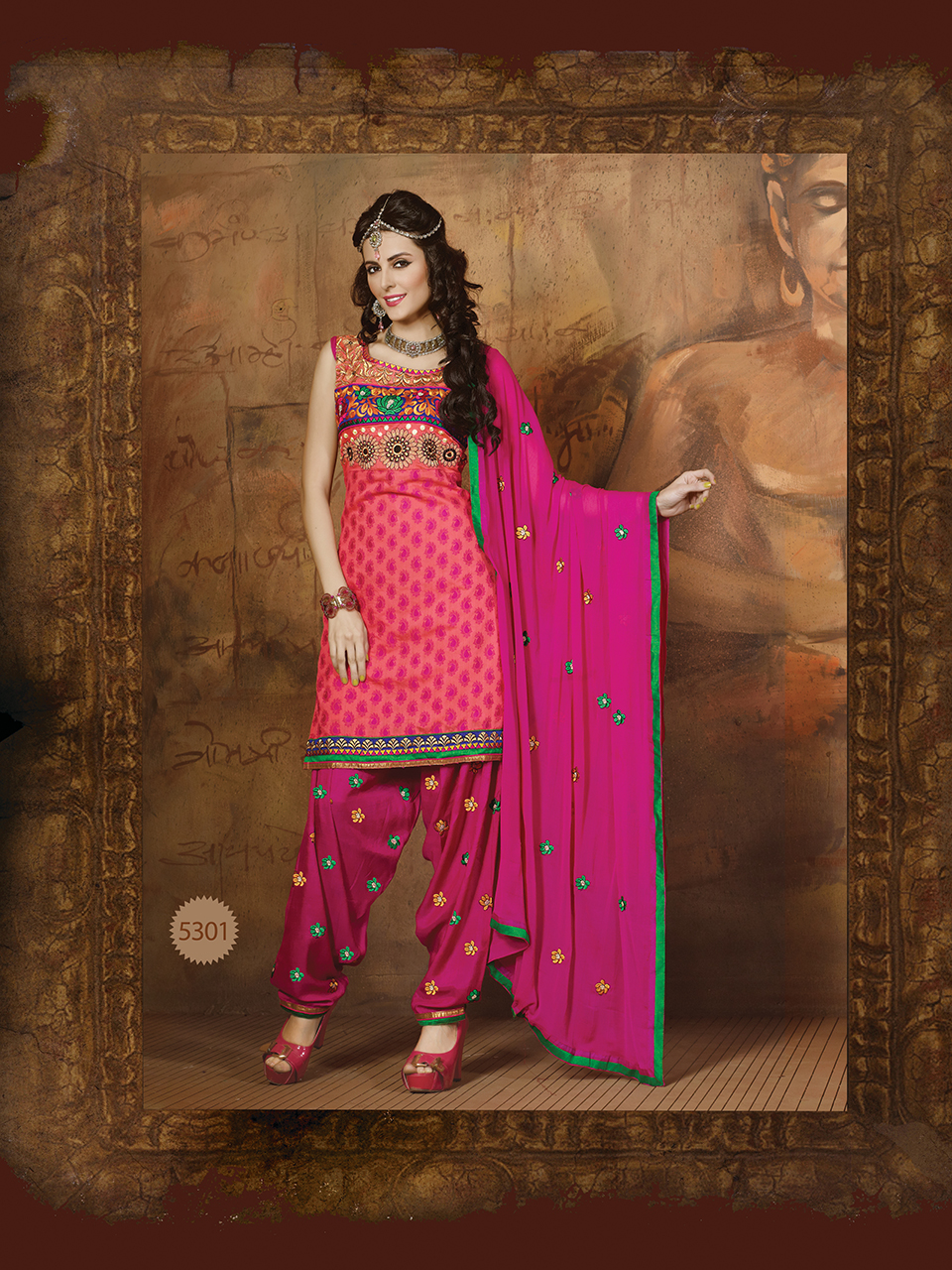 Patiala Salwar Kameez Online Shopping - Exclusive Collection of