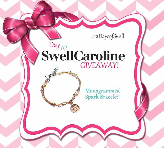 http://www.swellcaroline.com/monogram-spark-bracelet-sterling-gold-rose-gold.html
