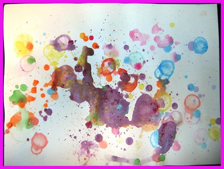 Idee Quadri Da Dipingere : Studiamando liberamente dipingere con l aria bolle colorate