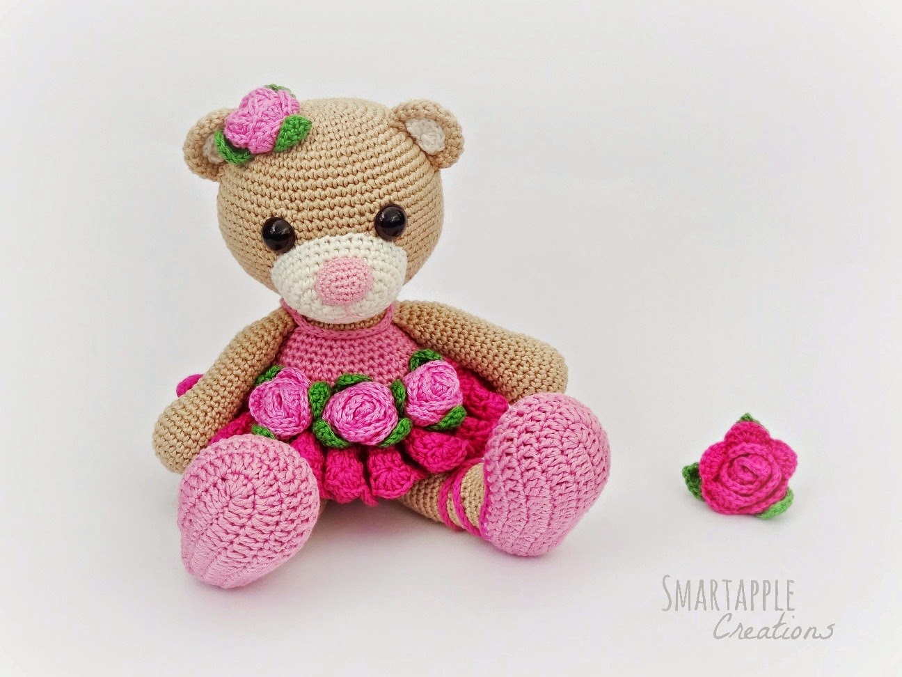 Amigurumi Free Patterns Bear : Smartapple creations amigurumi and crochet: bibi the ballerina