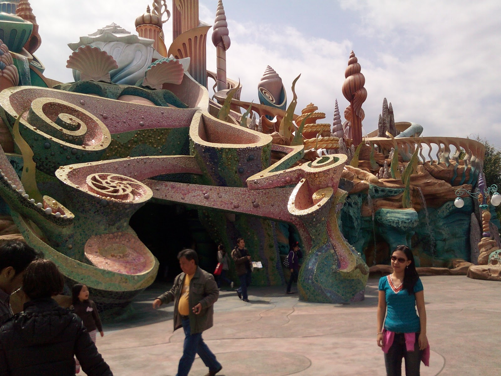 Tokyo Disneysea Mermaid Lagoon