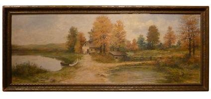 Rustic Landscape oil painting