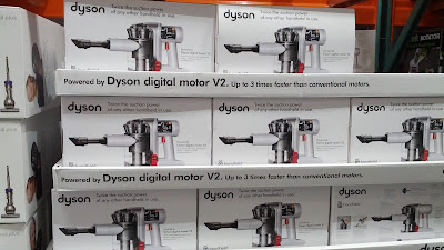 Clean up the mess that your kids and pets leave behind with the Dyson DC56 Hand Held Cordless Vacuum
