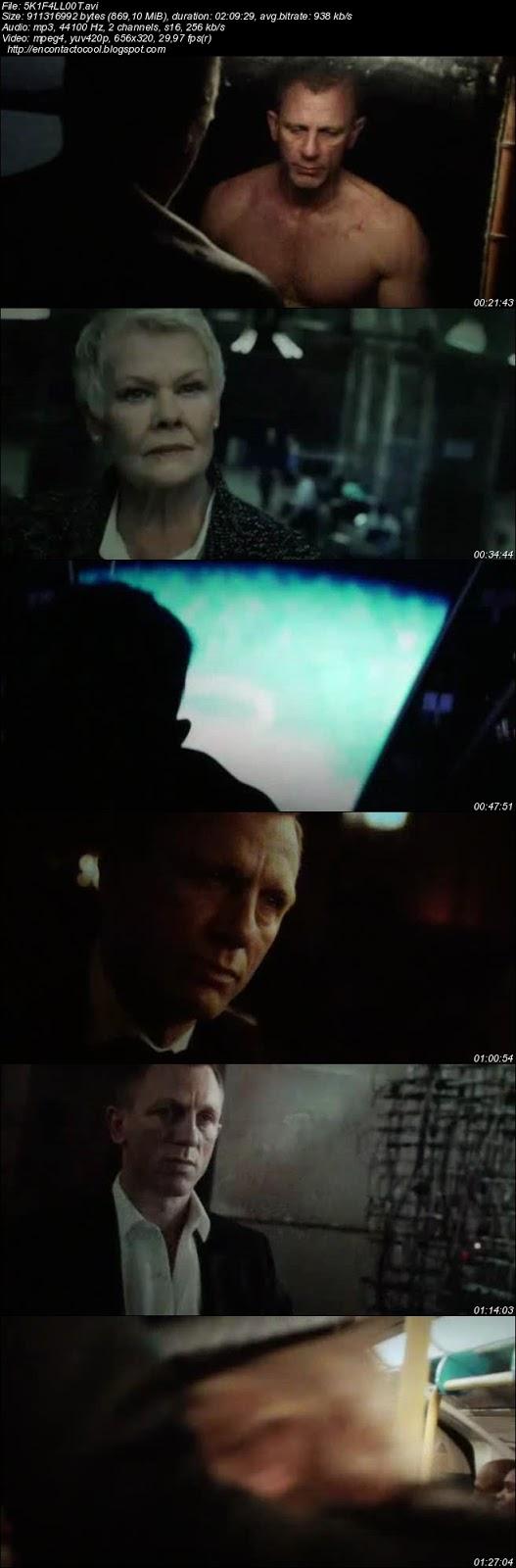 007 Skyfall Cam rip audio latino