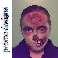 Zombie Face Paint by Premo Designs