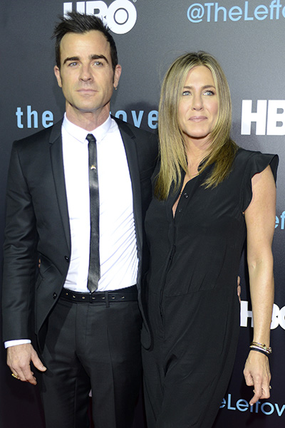 Jennifer Aniston and Justin Theroux first photos