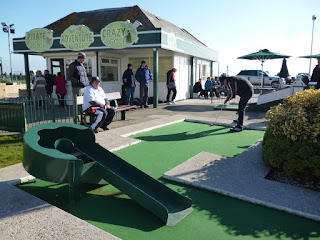 Photo of Luton Minigolfer Richard Gottfried in the BMGA British Crazy Golf Open in Hastings