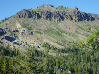 Talus slopes around Castle Reak, northwest of Truckee