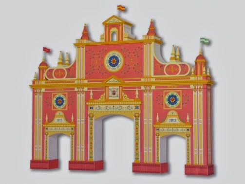 Portada Feria de Sevilla 2012