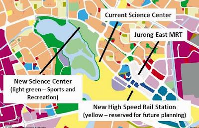 Jurong New Theme Park Land Use New Development