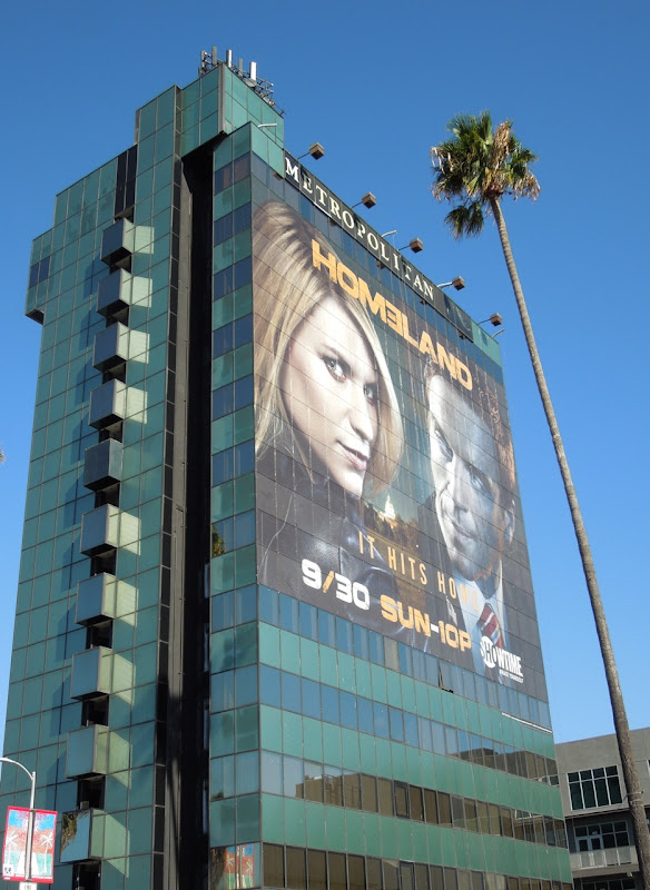Giant Homeland season 2 billboard