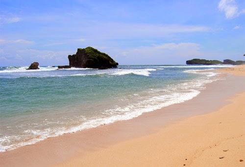 Wisata Pantai Sundak Jogja