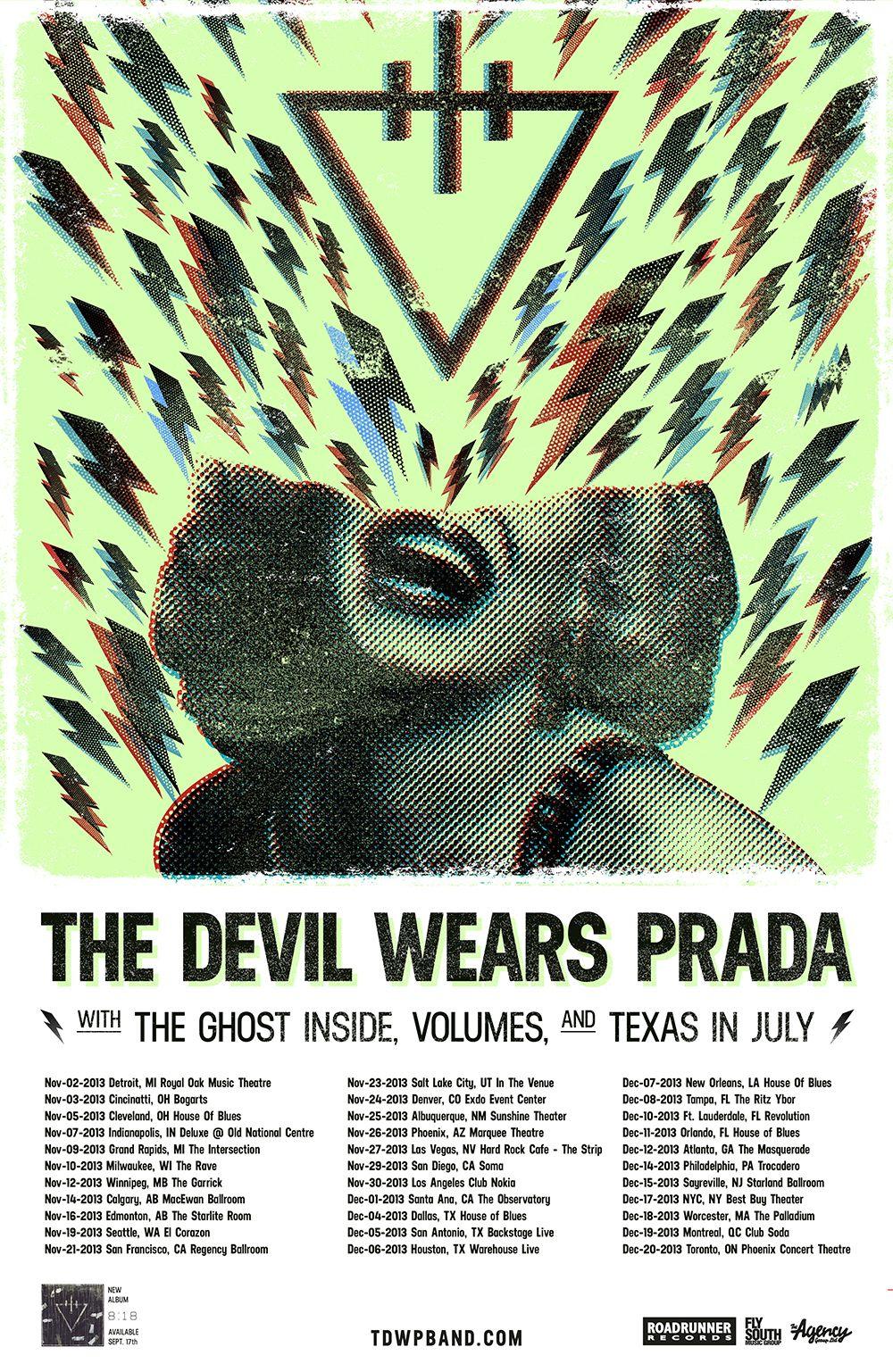 The Devil Wears Prada Announce 818 Tour Nataliezworld