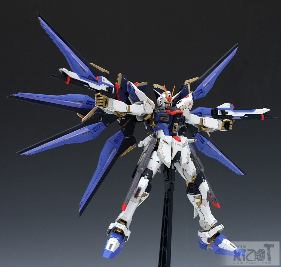 GUNDAM GUY: MG 1/100 XGMF-X20A Strike Freedom Gundam ...