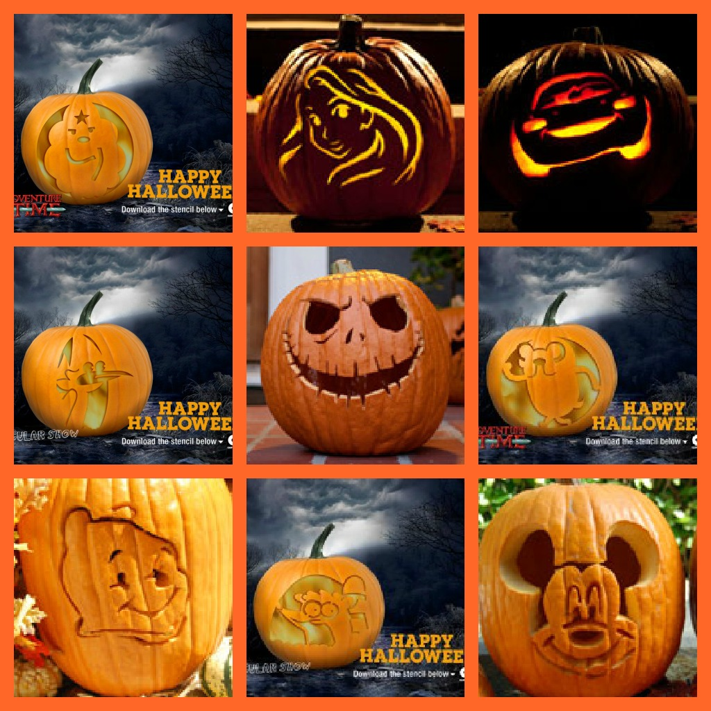 Disney pumpkin carving stencils