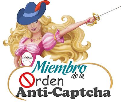 Yo soy de la orden anti-captcha!!
