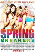 spring breakers vanessa hudgens movie poster