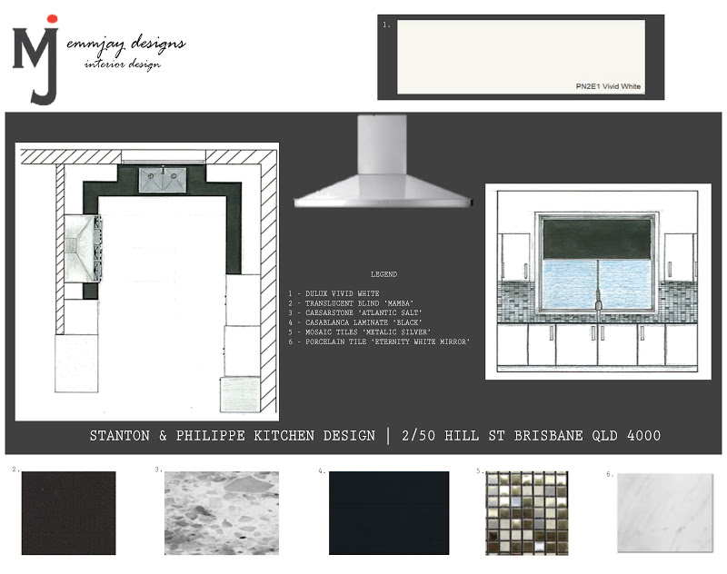 Interiors C3id0010b Kitchen Design Ass 3 Presentation Board